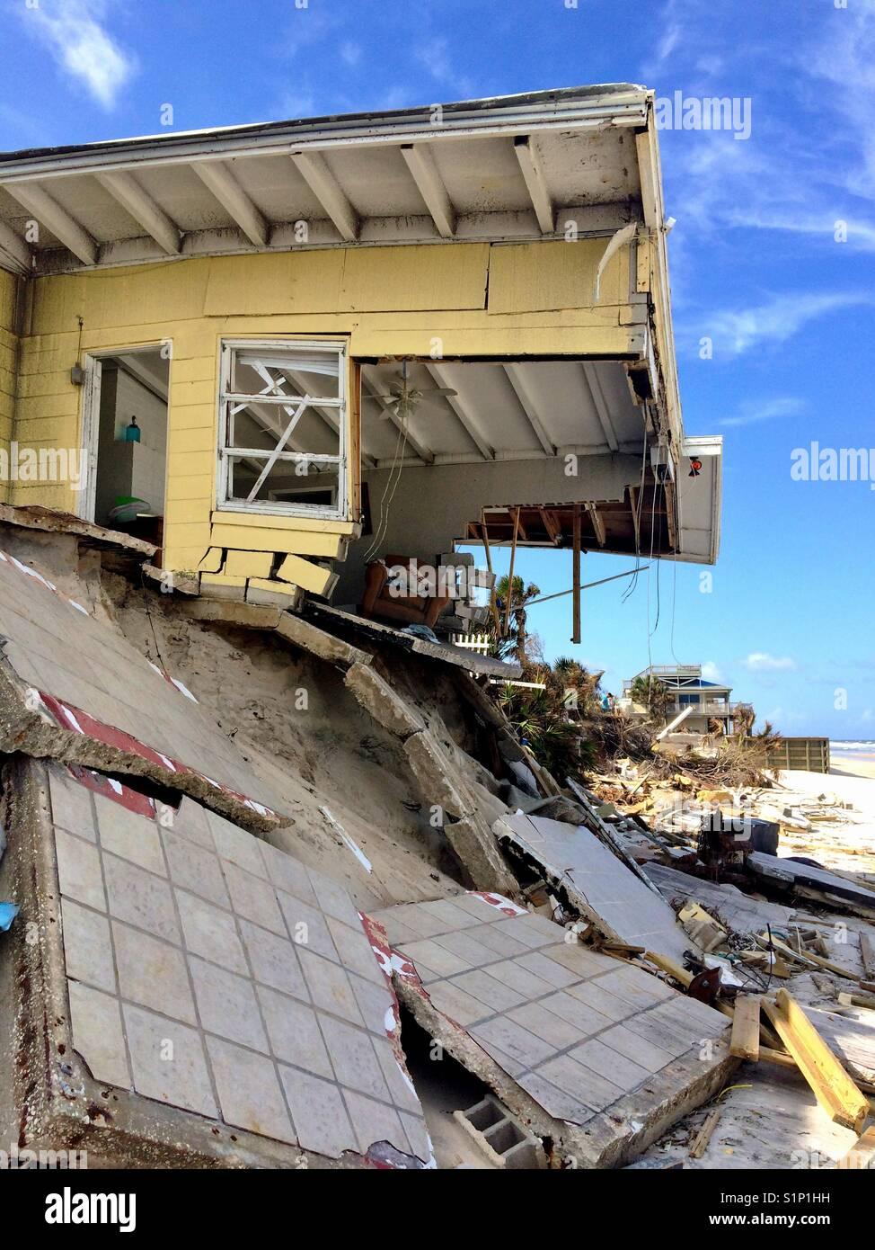 Hurricane Irma Stockbild
