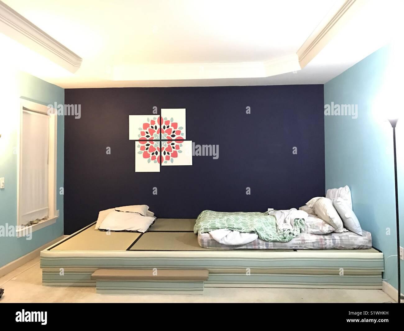 Bilden ein neues Zuhause ... meine erste DIY-Leinwand Gemälde ...