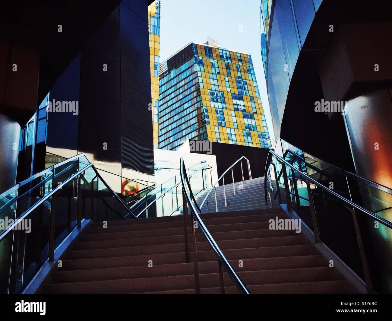 Moderne Architektur in Las Vegas, Nevada Stockbild