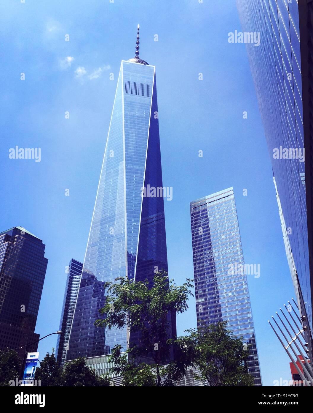 Das One World Trade Center, New York City, USA. Stockbild