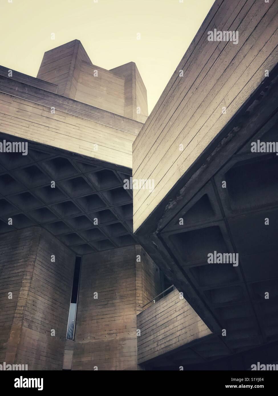 50er Jahre Architektur Stockfotos & 50er Jahre Architektur