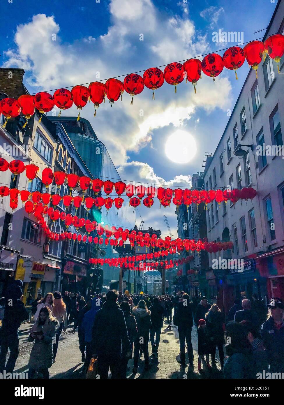 ChinaTown, London Stockbild
