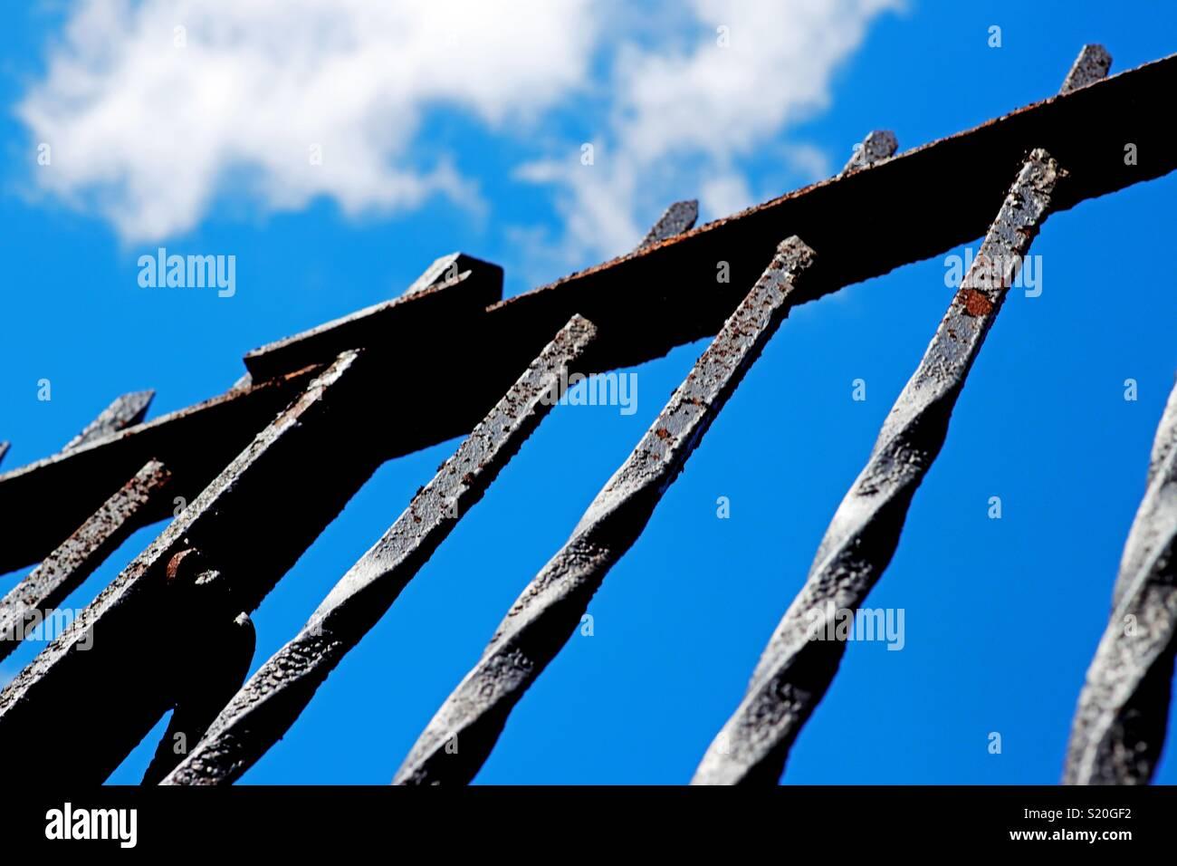 Rusty Sky Stockfotos & Rusty Sky Bilder - Alamy