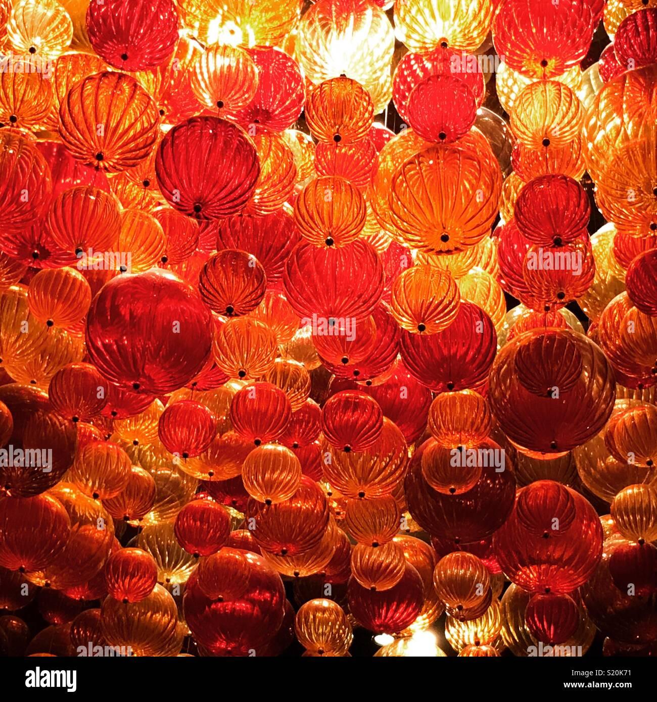 Gläserne Decke Stockbild