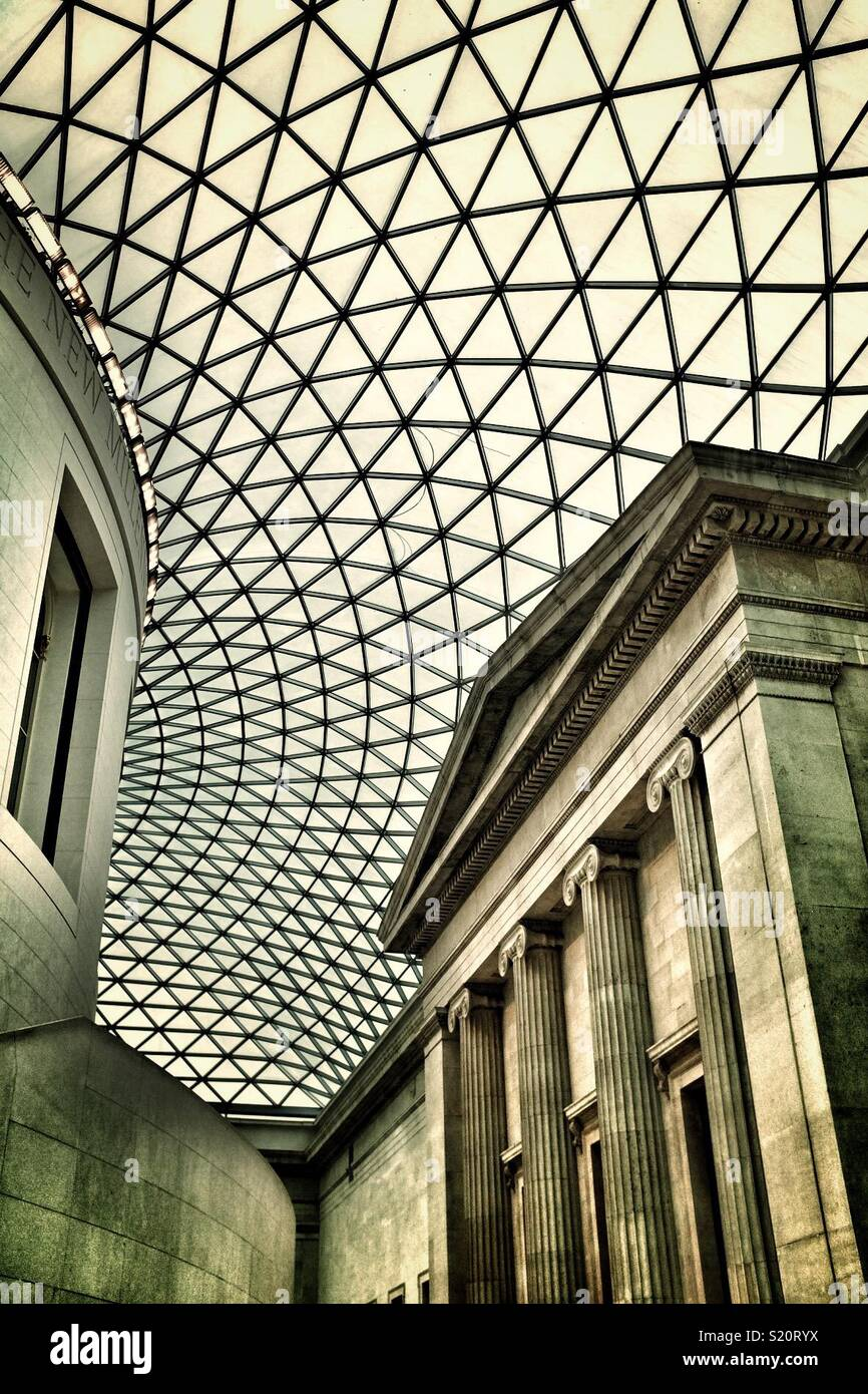 British Museum in London Stockbild