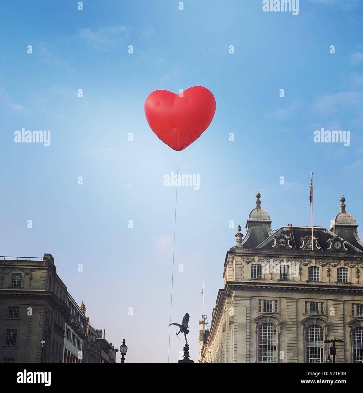 Liebe London Stockbild