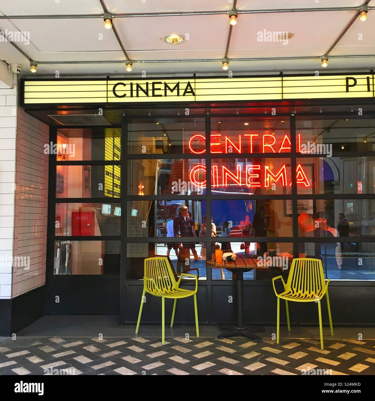 Picturehouse central Kino Stockbild
