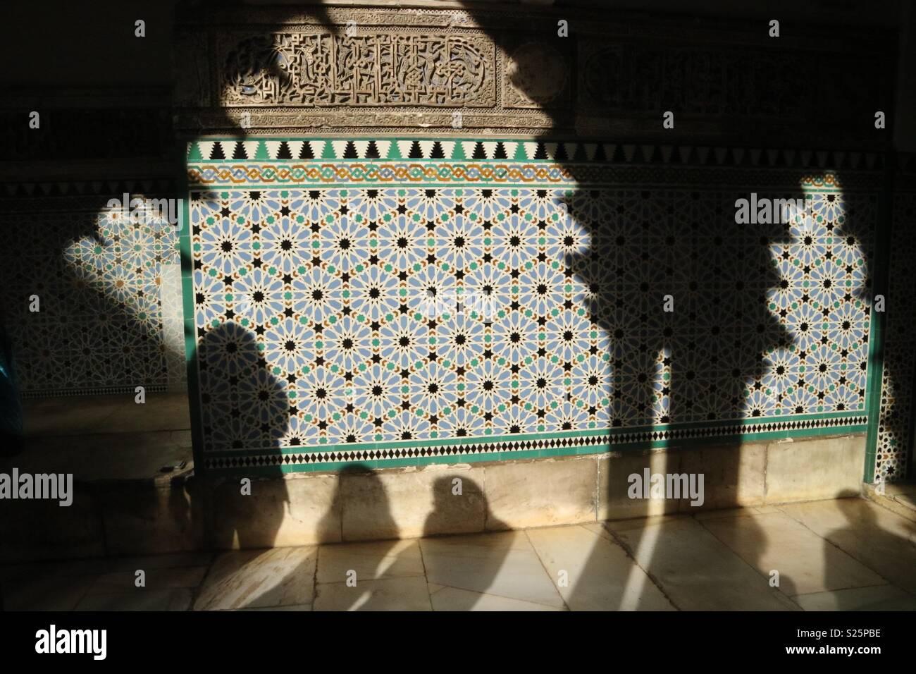 Sevilla Palace Stockbild