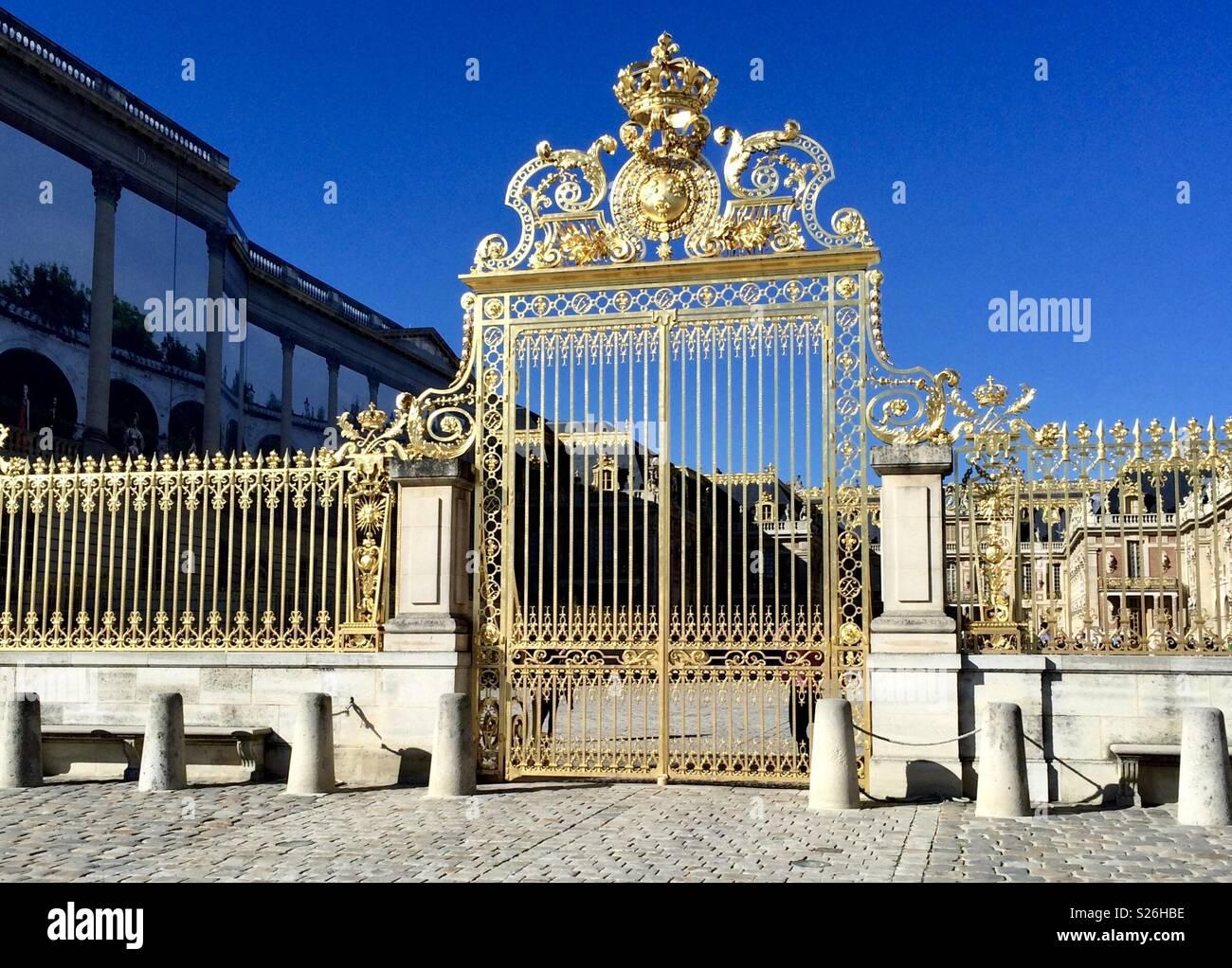 Schloss von Versailles Stockbild