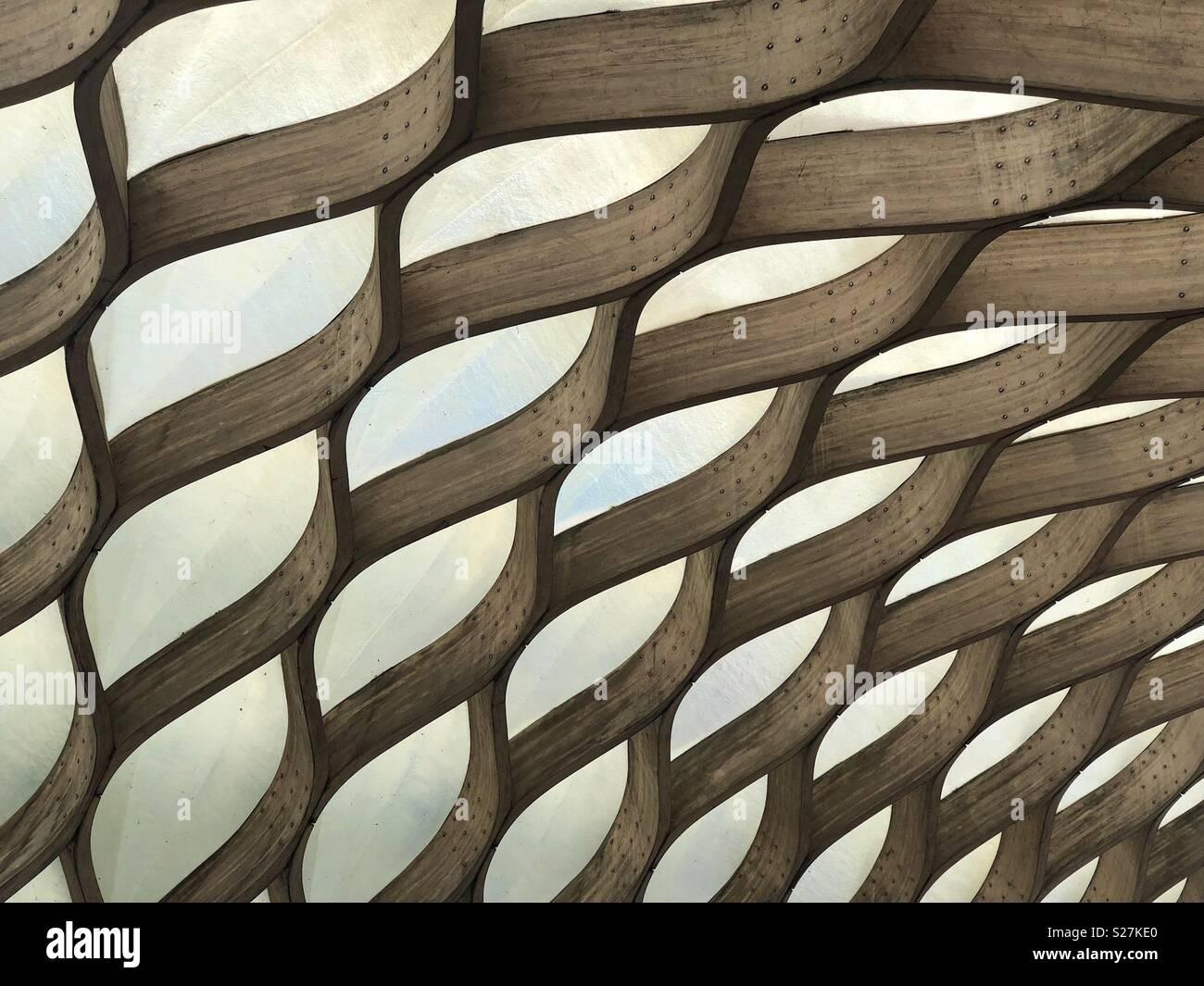 Lincoln Park Struktur Stockbild