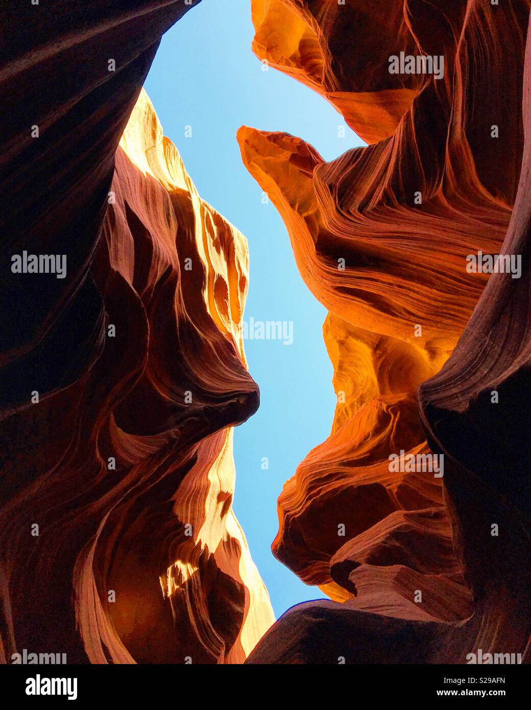 Antelope Canyon Stockbild
