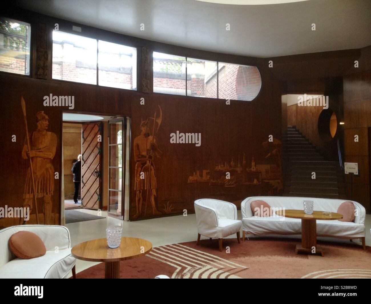 Art déco-Wohnzimmer Stockfoto, Bild: 311264393 - Alamy