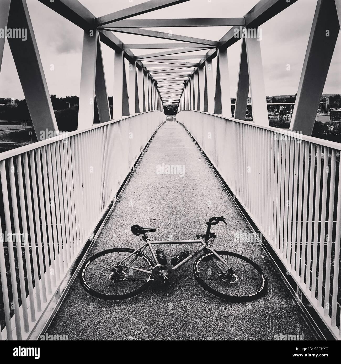 Urbane Radfahren Stockbild