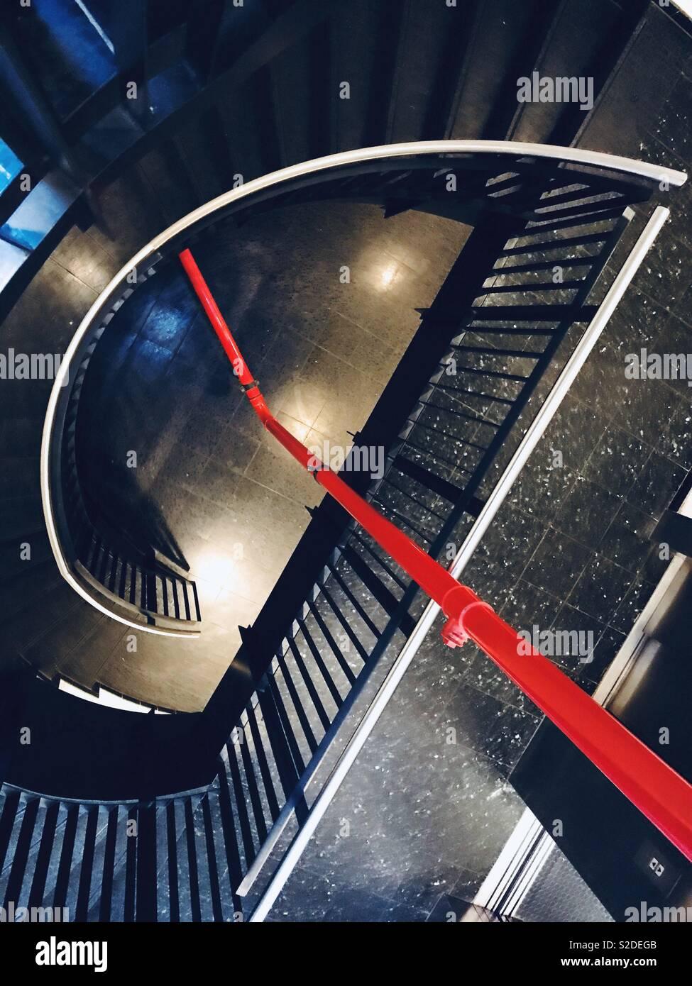 Rote Linie Stockbild