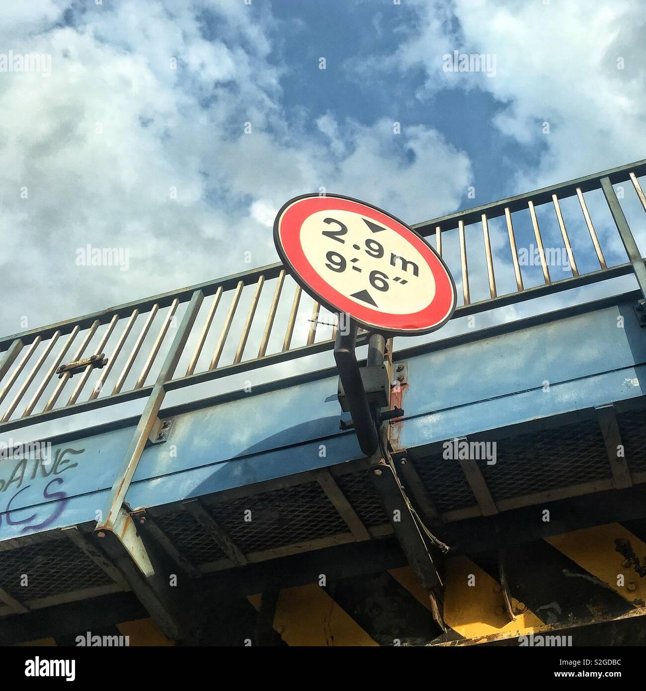 Straßenschild Stockfoto