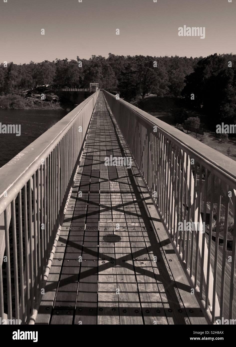 Mundaring Weir Stockbild