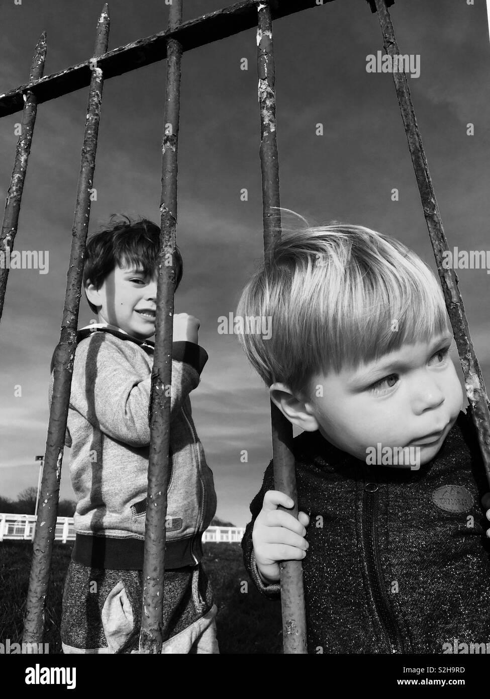 Coole kids Stockfoto