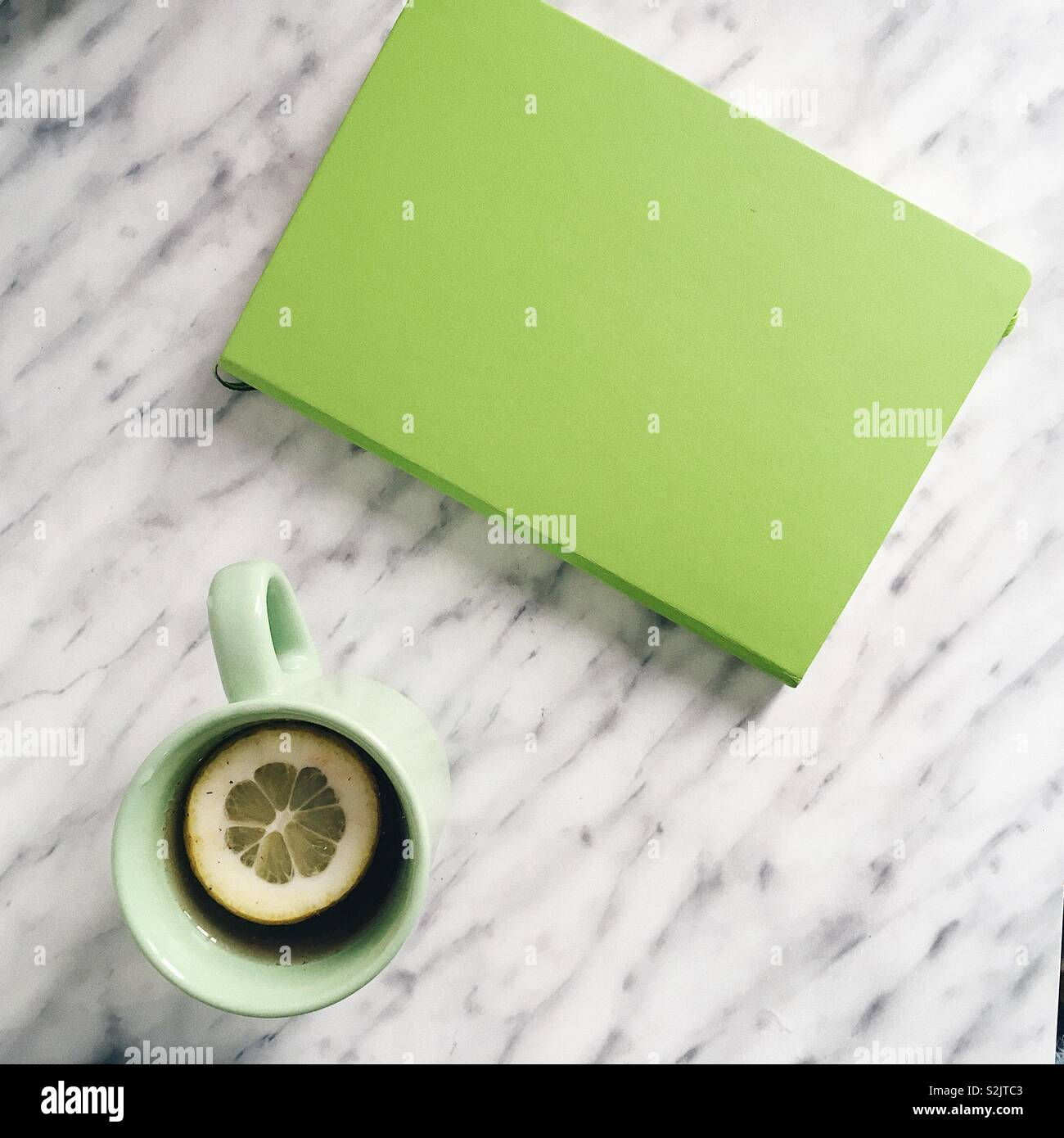 Grüne vibes. Stockbild