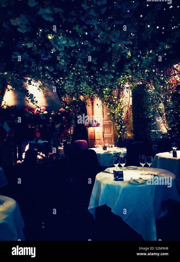 Restaurant Stockfoto