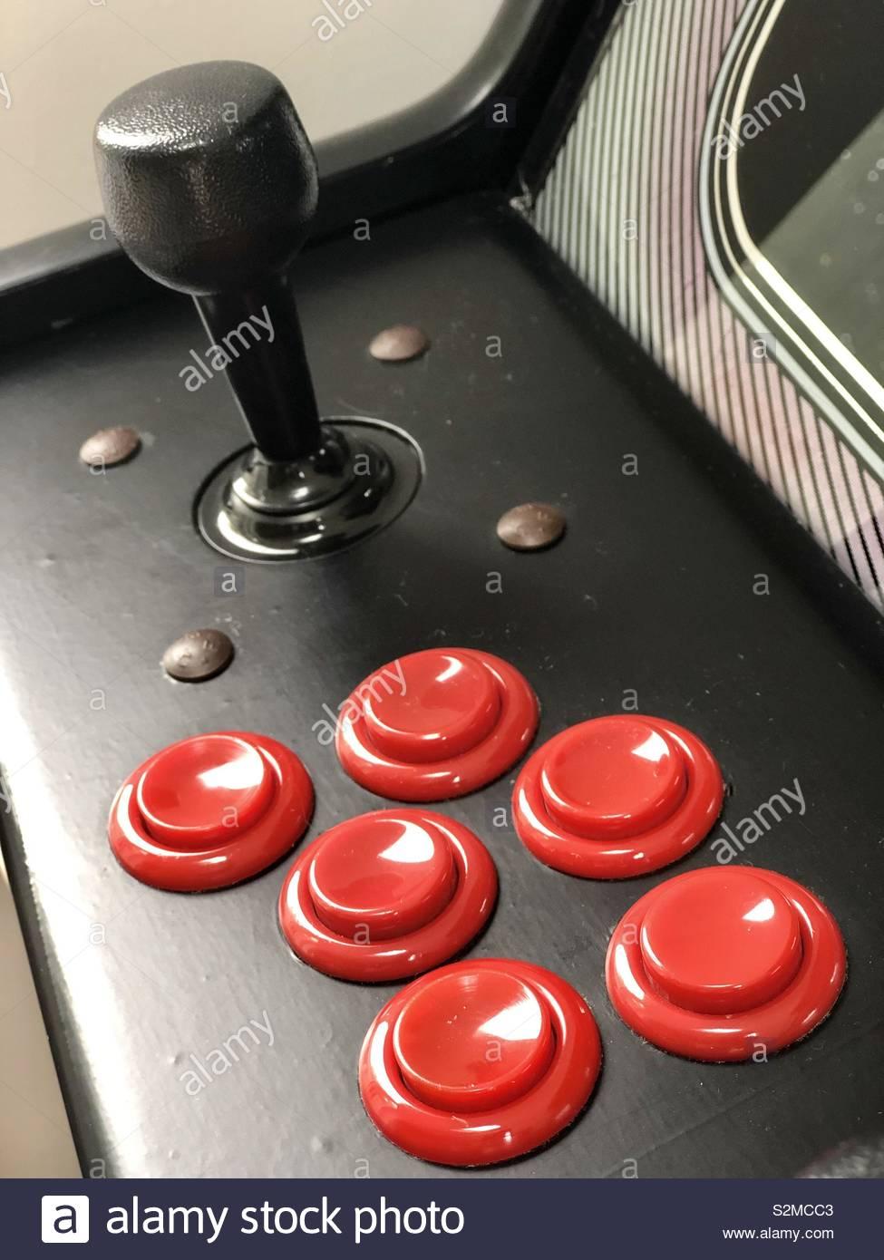 Arcade Machine Stockfoto