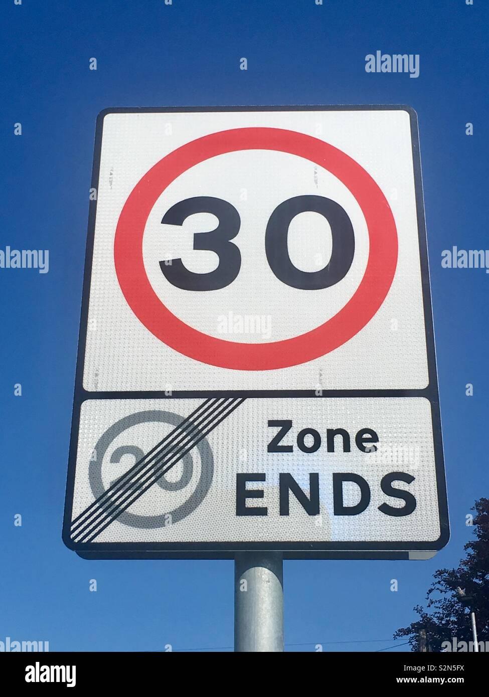 Geschwindigkeit in der Nähe von Aylesbury