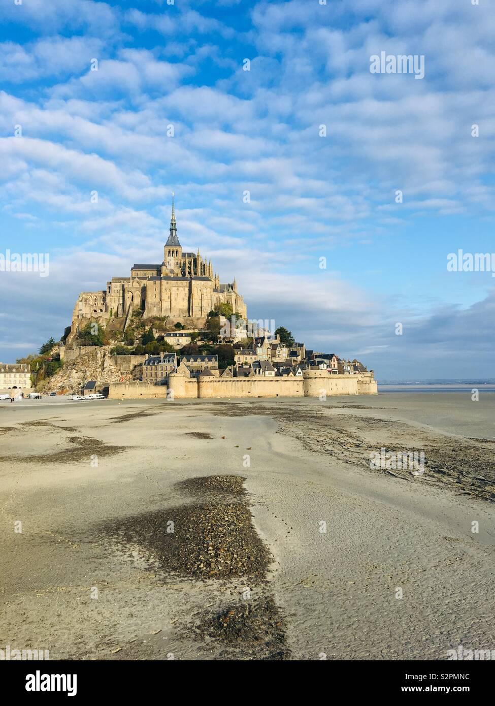 Mont Saint Michel Stockbild