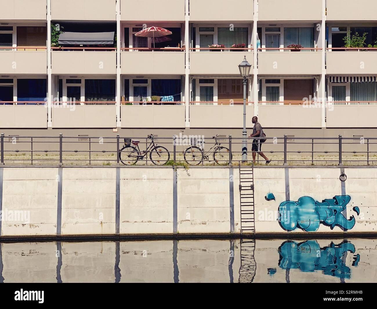 Berlin Stockfoto