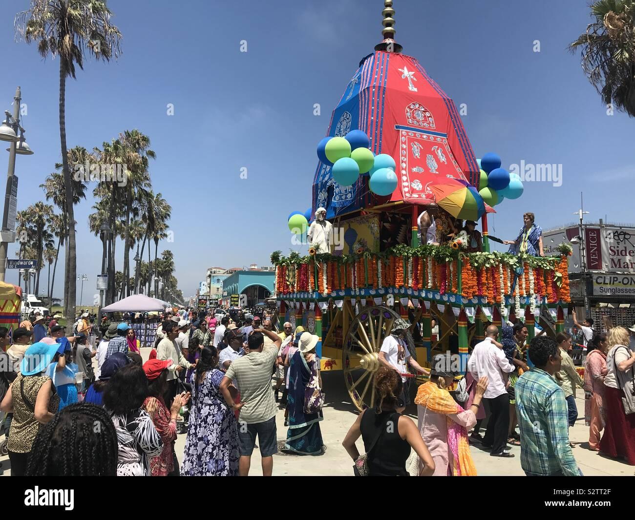 Festival der Wagen, Venice Beach, Ca Stockfoto