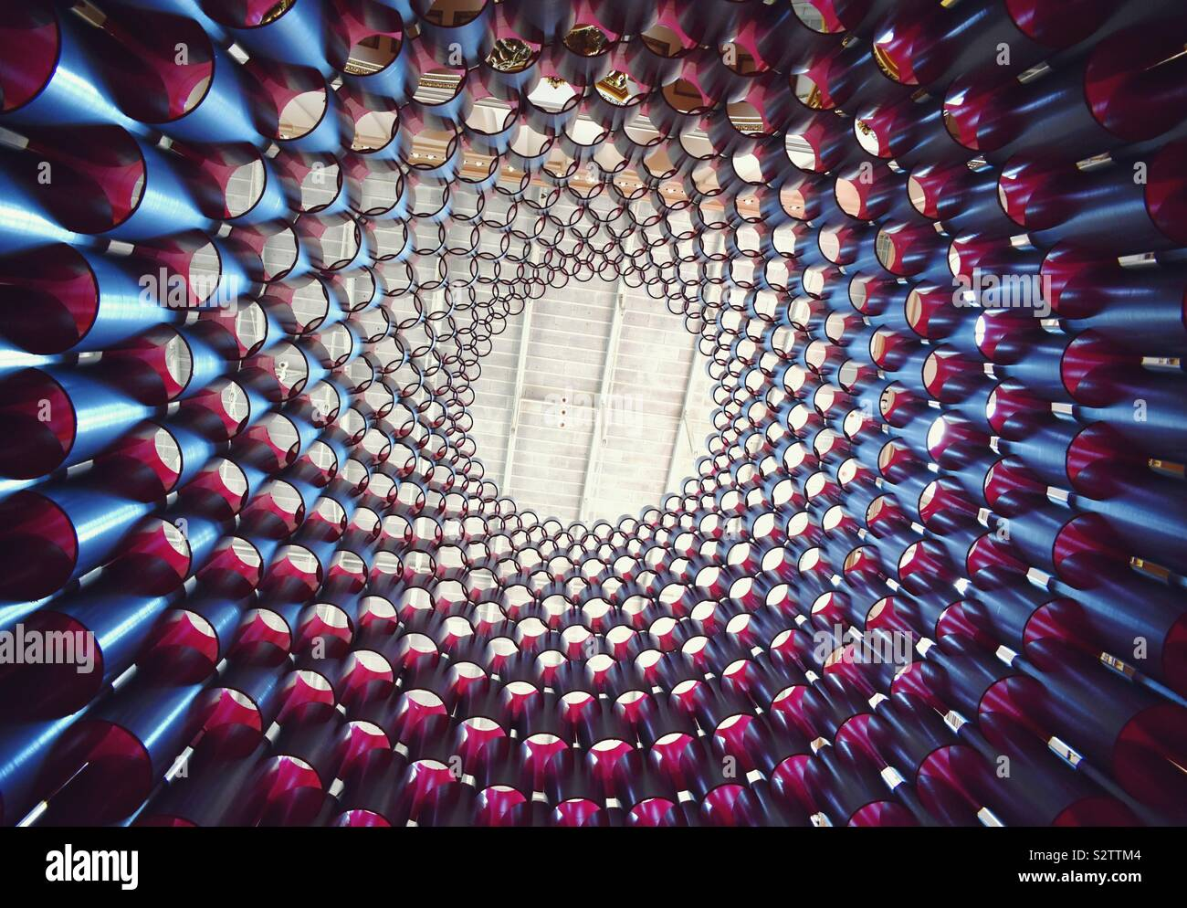 Hive Ausstellung im National Building Museum, Washington, DC Stockfoto