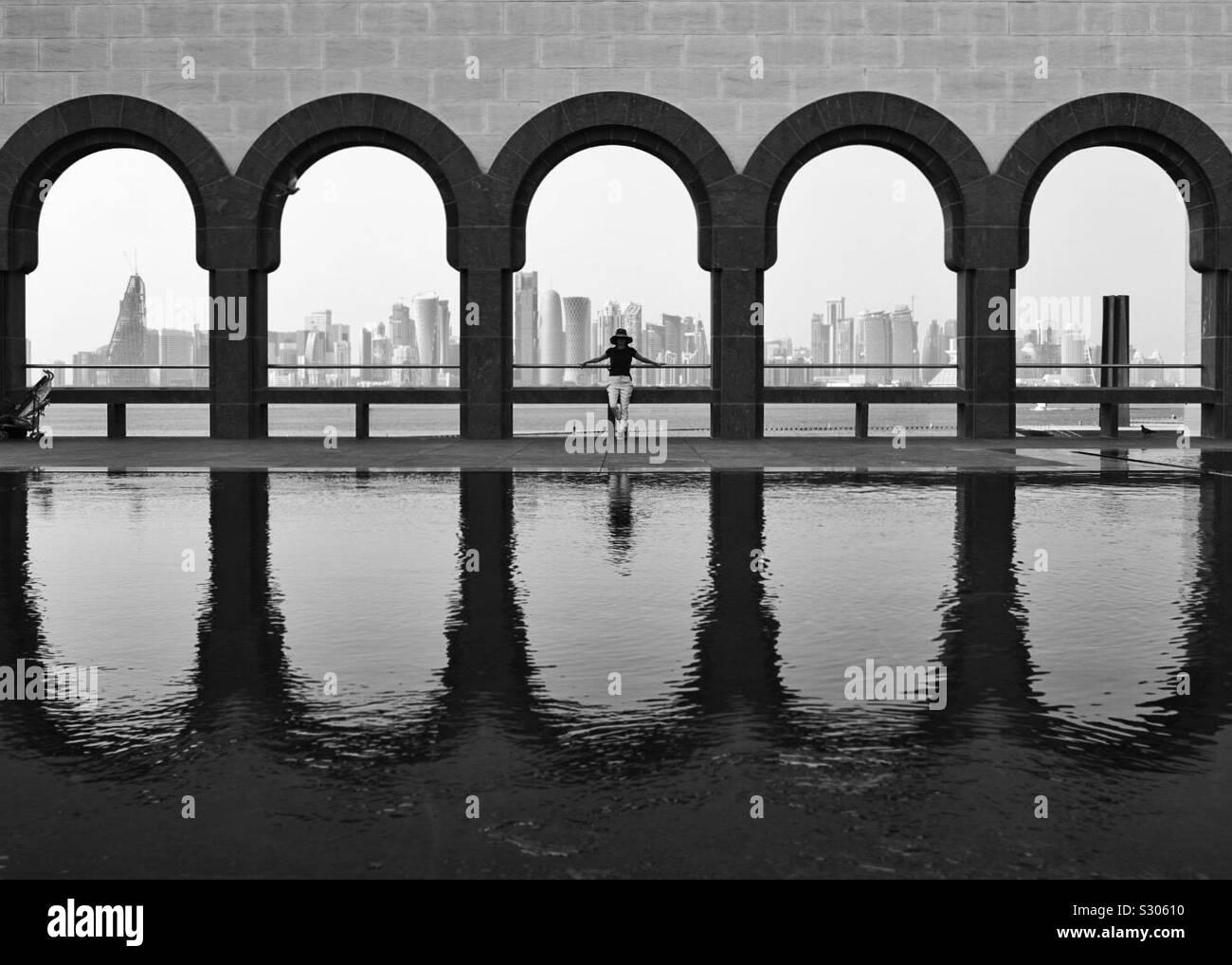 Museum für islamische Kunst, Doha, Katar Stockfoto