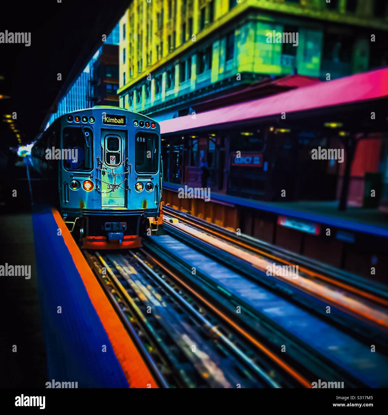 Alle Farben des braune Linie Stockfoto