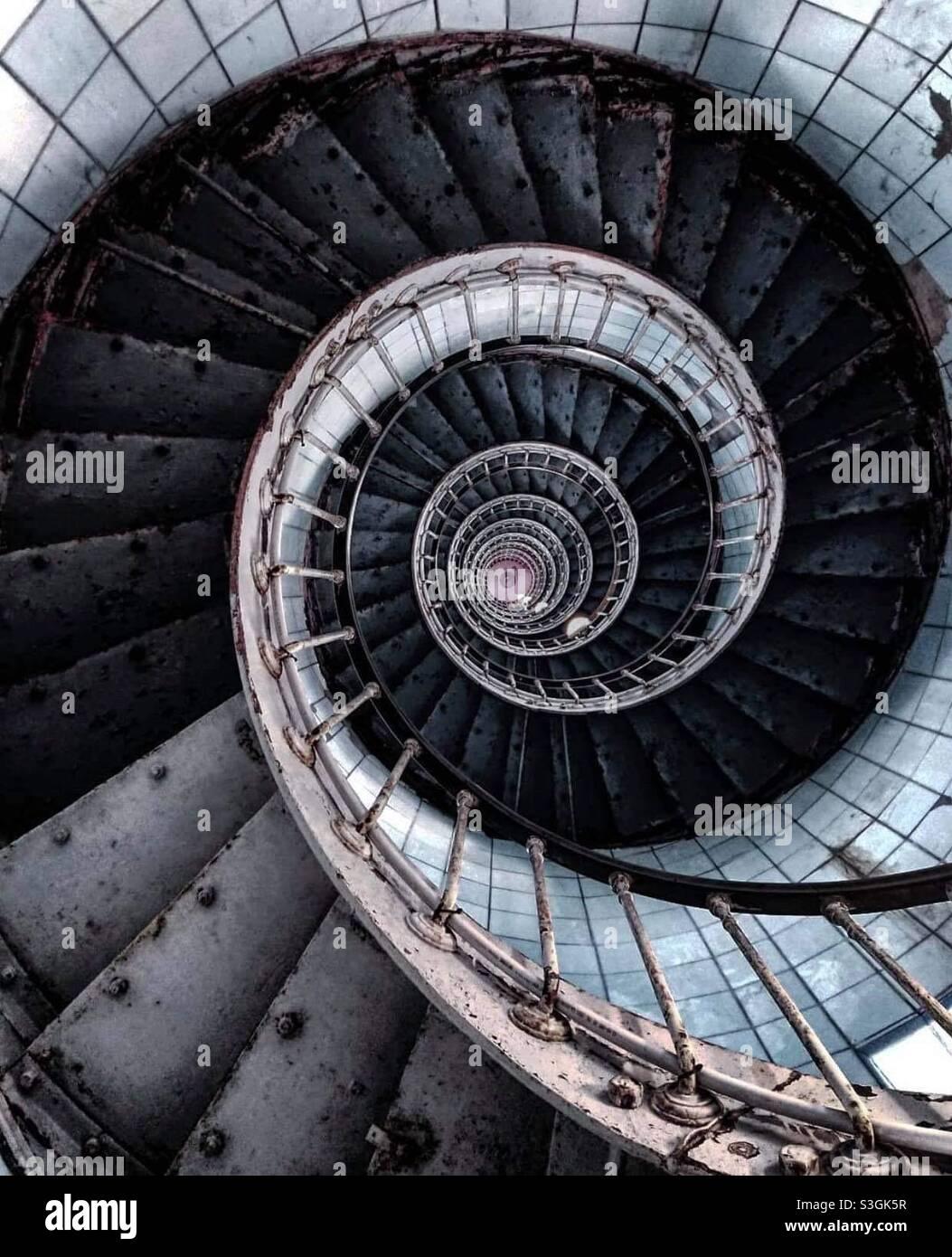 PHARE de la coubre Light House Stockfoto