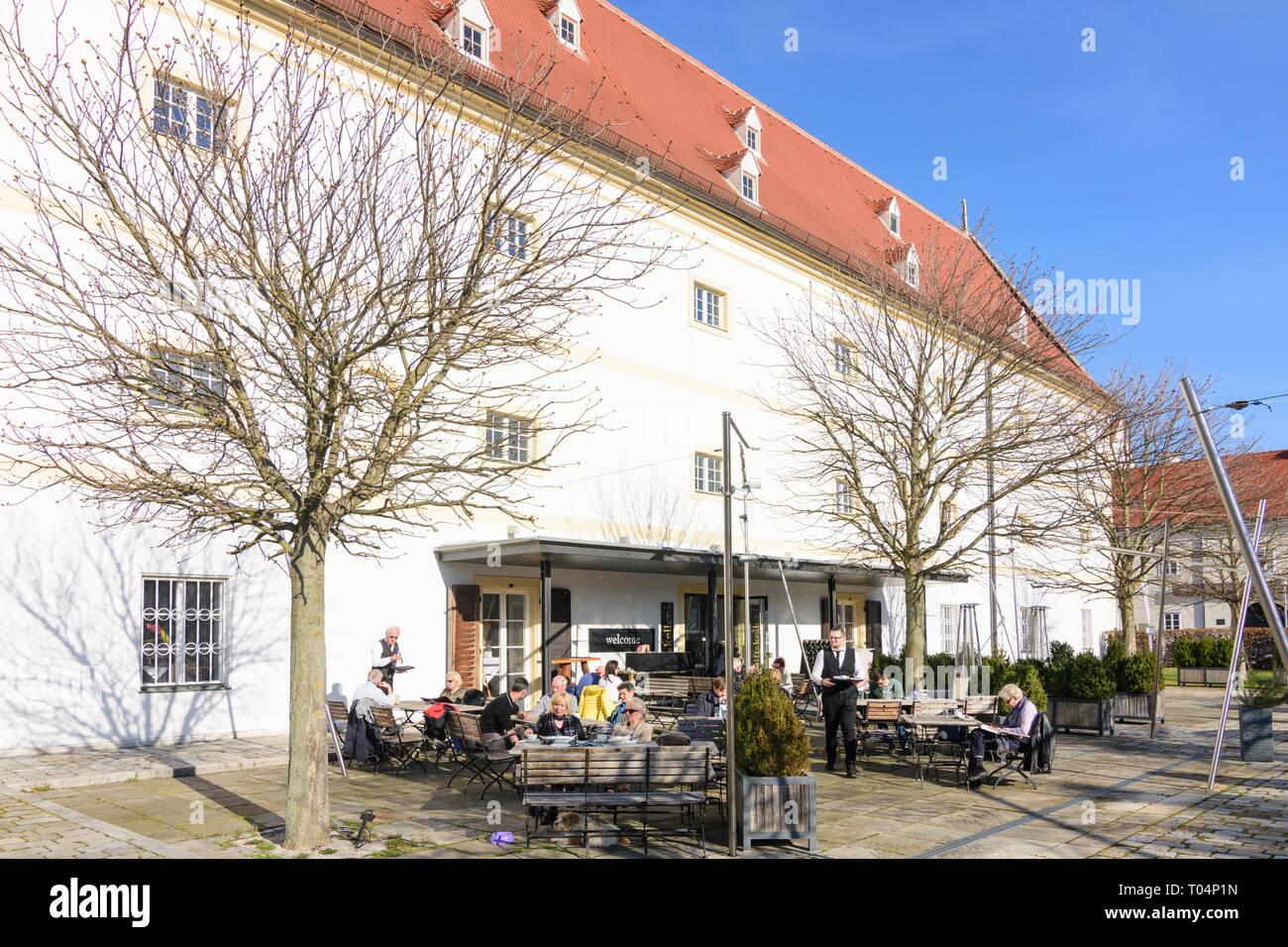 Restaurant Stiftskeller Im Kloster Stift Klosterneuburg Stockfoto