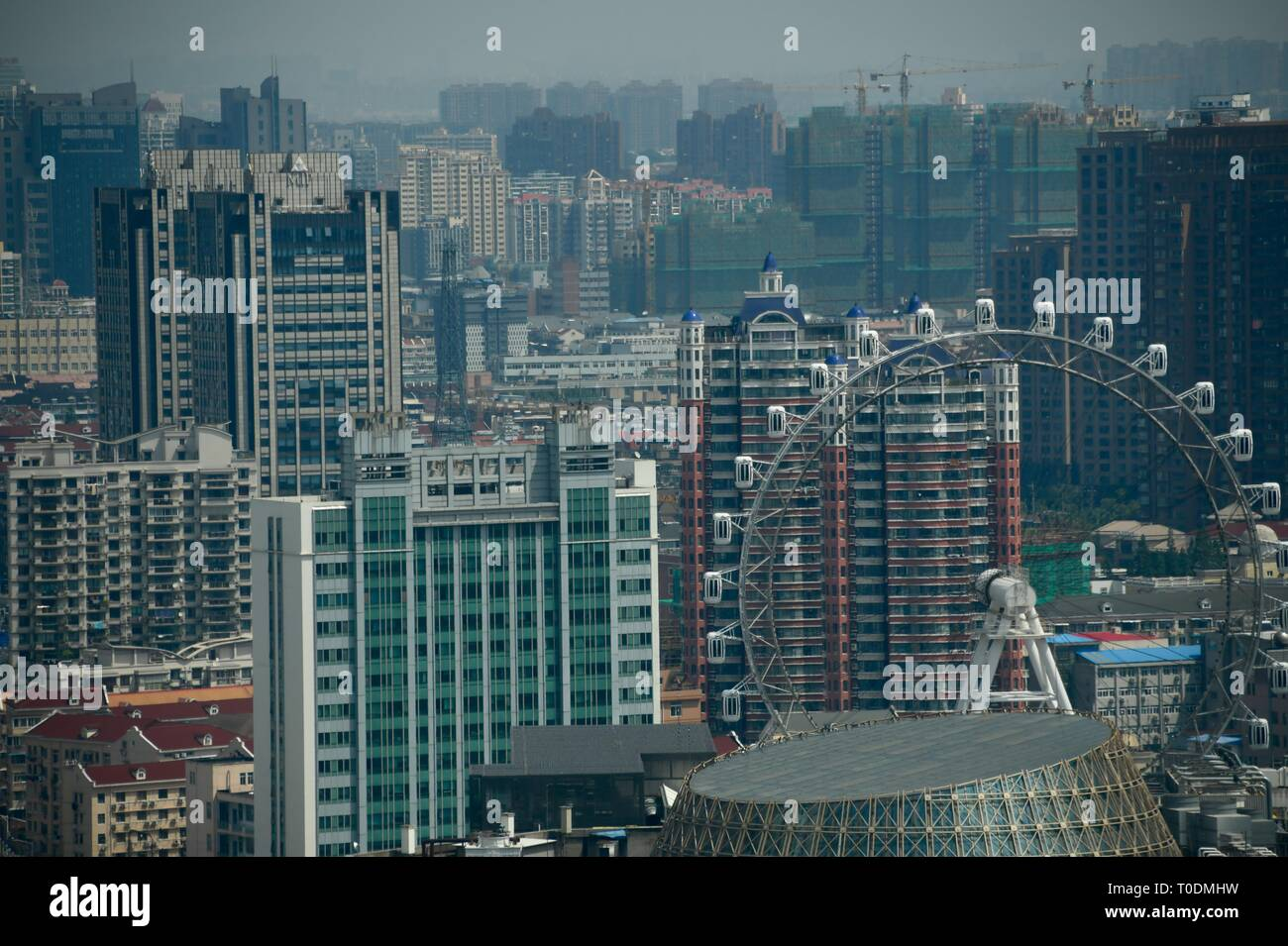 Shanghai - das faszinierende und bezaubernde Stadt der Welt Stockfoto