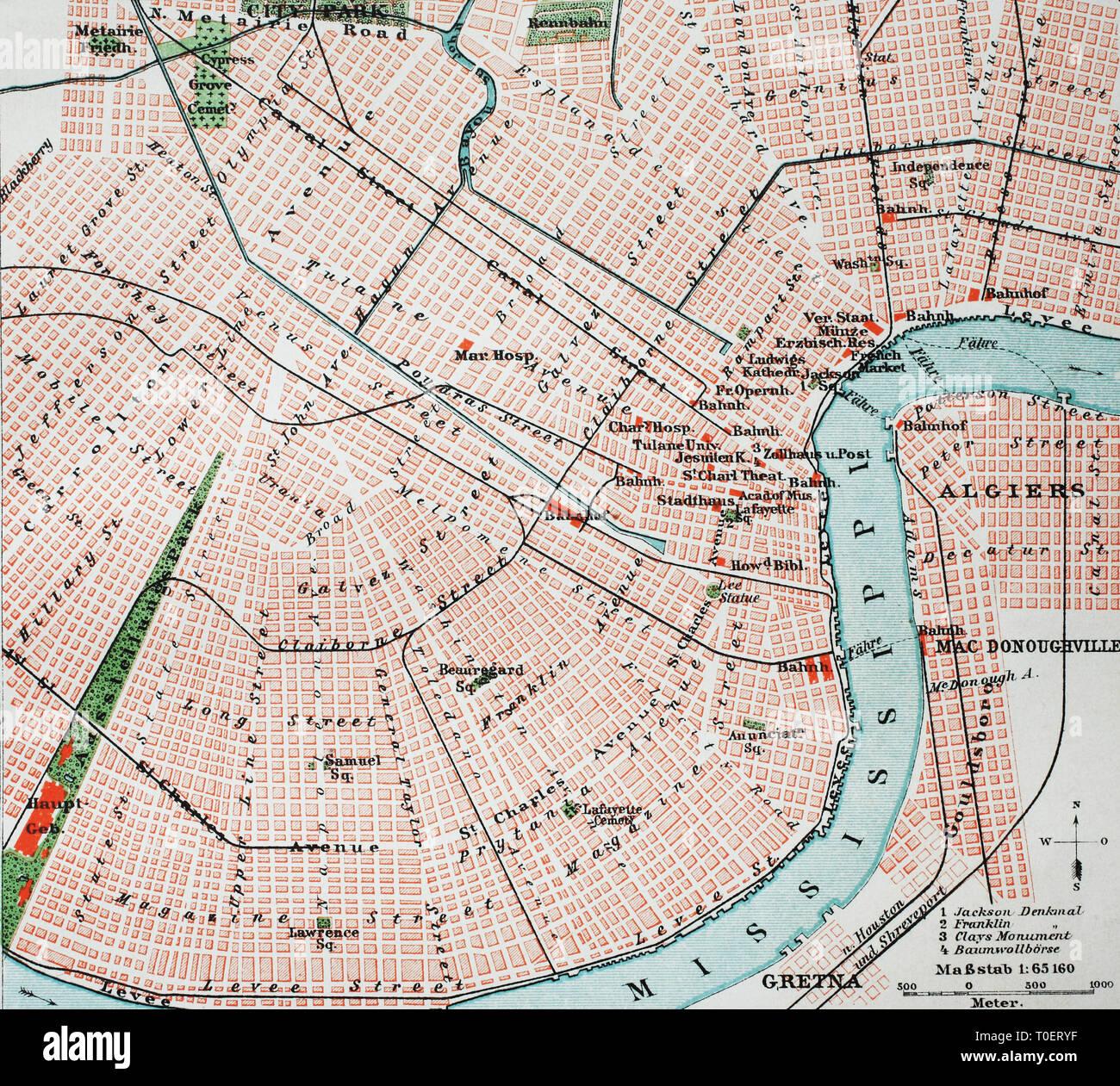 Historische Karte Potsdam.Stadtplan Von Stockfotos Stadtplan Von Bilder Alamy