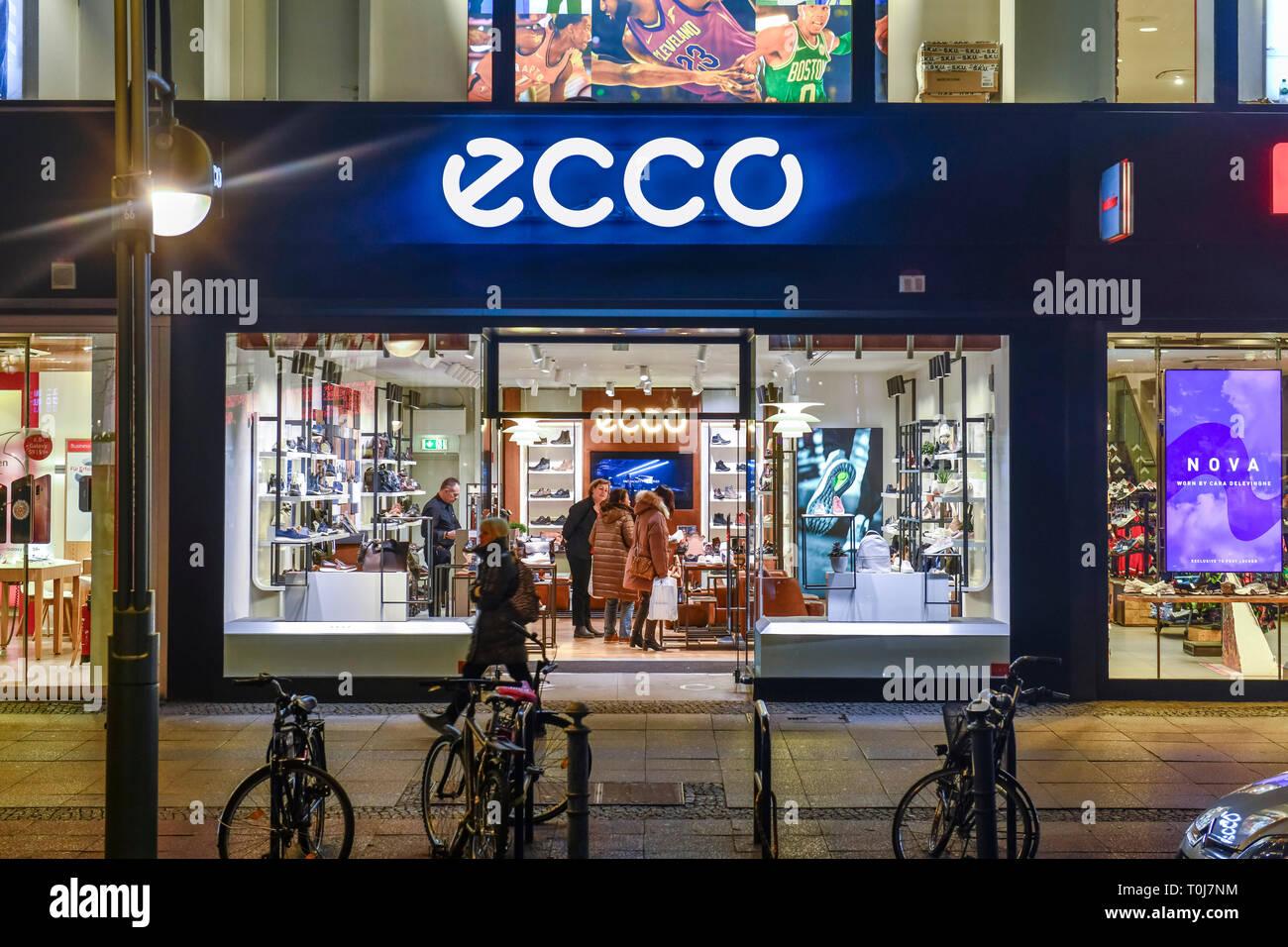 Schuh Haus Ecco, Tauentzien, Charlottenburg, Berlin