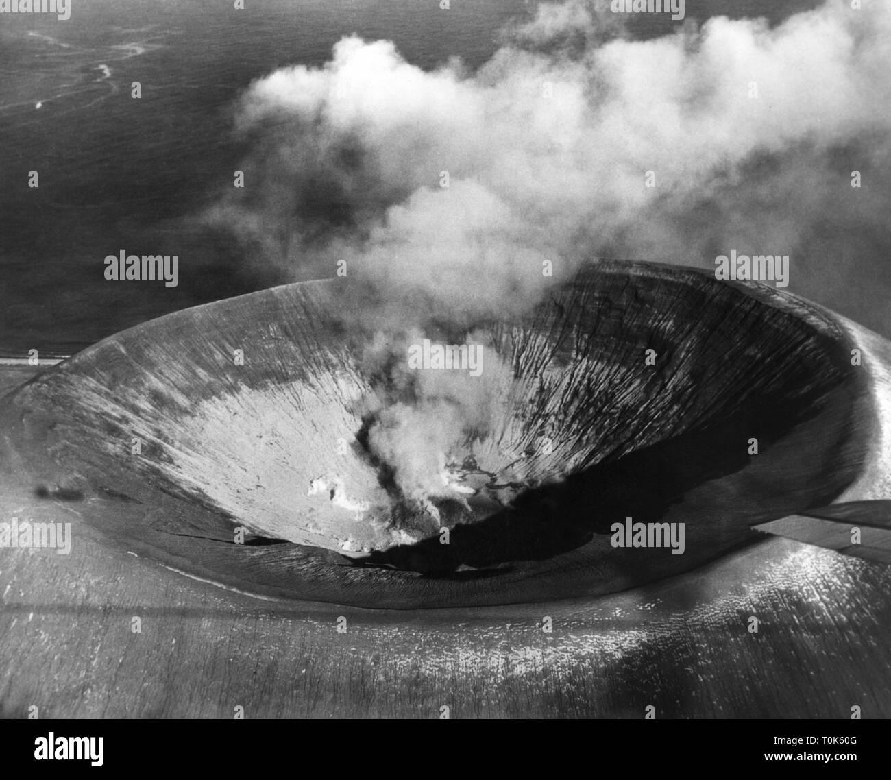 Geographie/Reisen, Mexiko, Landschaften, Vulkan Boqueron, September 1952 Additional-Rights - Clearance-Info - Not-Available Stockbild