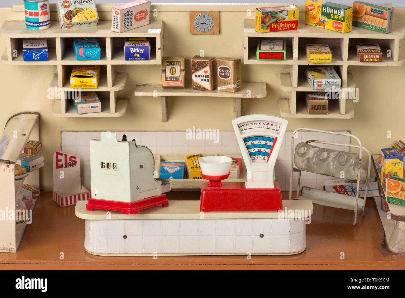 Spielzeug, Lebensmittelgeschäft, Kinder Spielzeug Shop