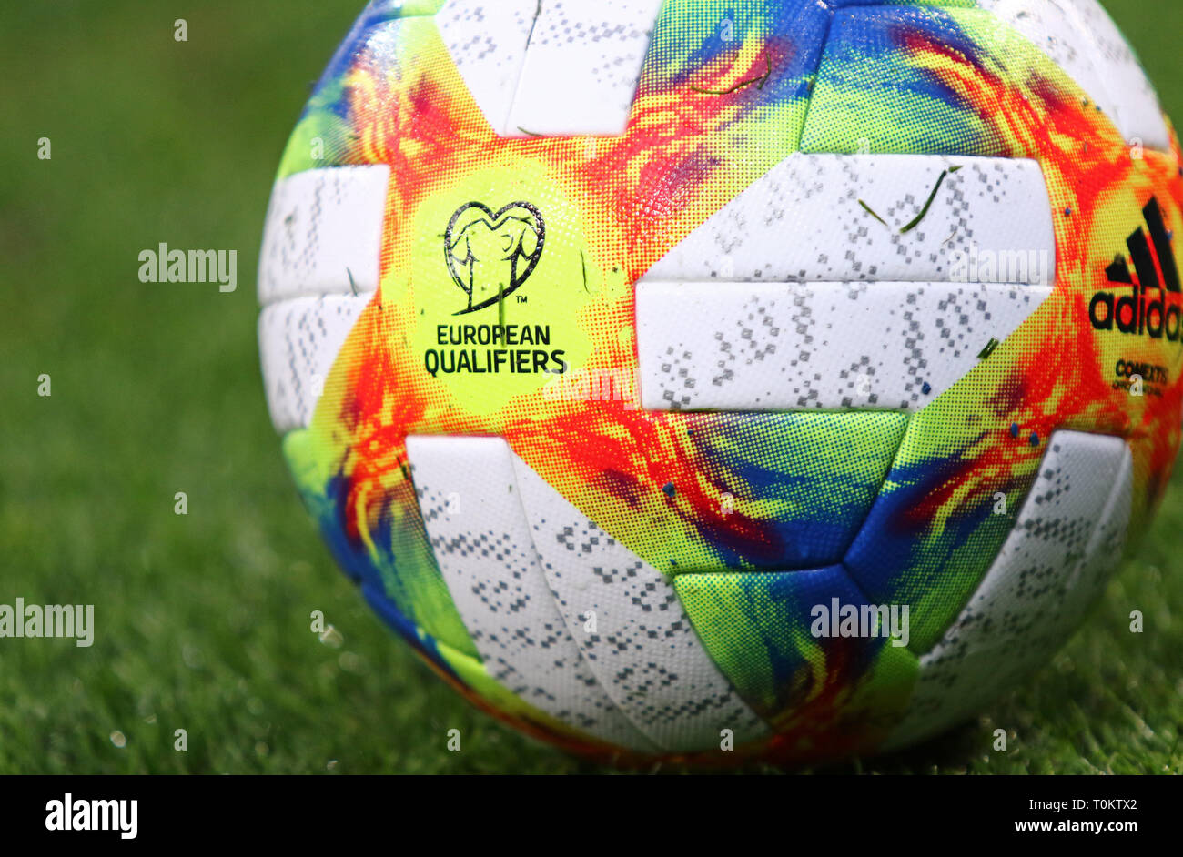 Kiew, Ukraine MÄRZ 18, 2019: Offizielle UEFA EURO 2020