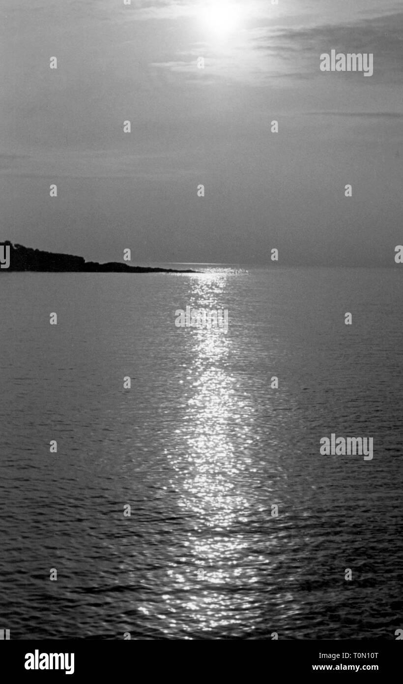 Geographie/Reisen, Monaco, Küste, 1950er Jahre, Additional-Rights - Clearance-Info - Not-Available Stockbild