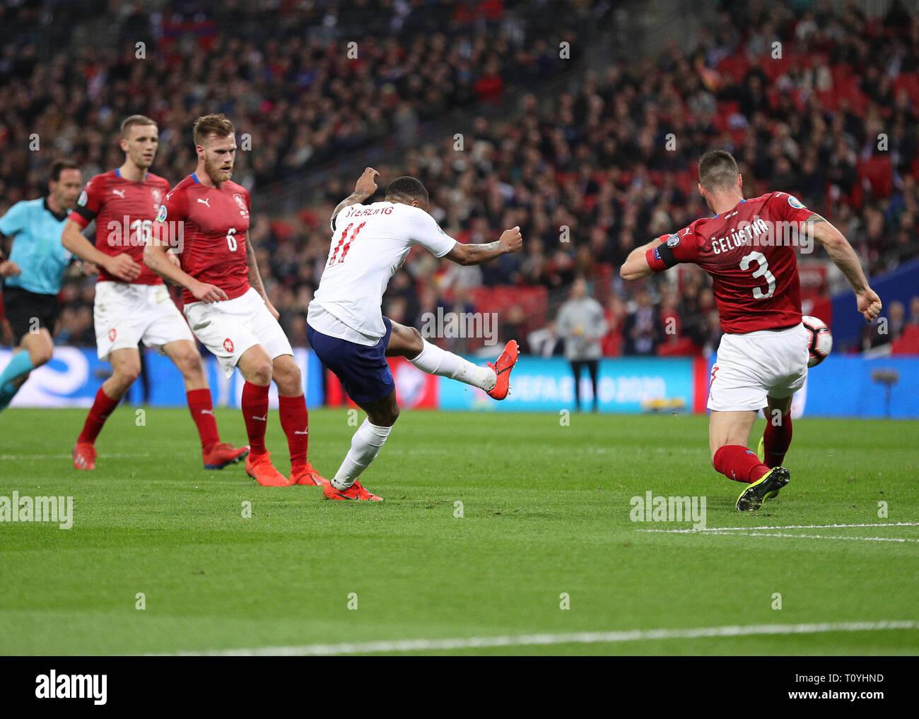 Wembley Stadion London Uk 22 Mar 2019 Uefa