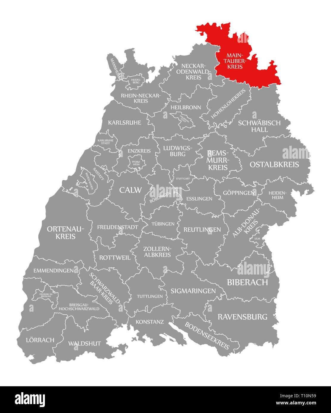 Region Heilbronn Franken Karte.Main Tauber Region Stockfotos Main Tauber Region Bilder Alamy