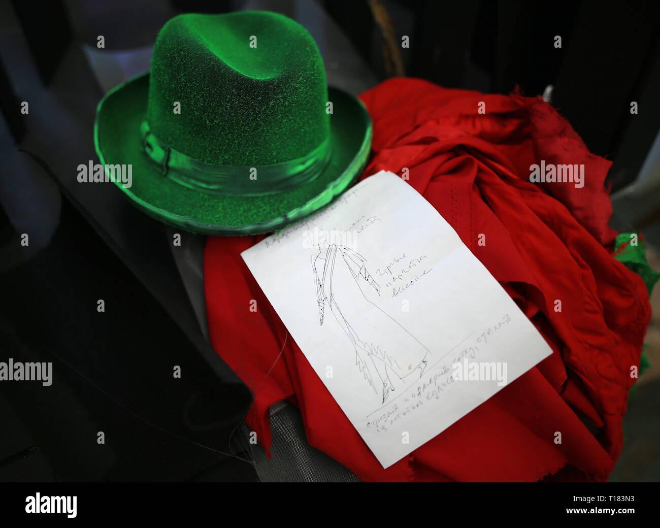 Kostümskizze Stockfotos und  bilder Kaufen   Alamy