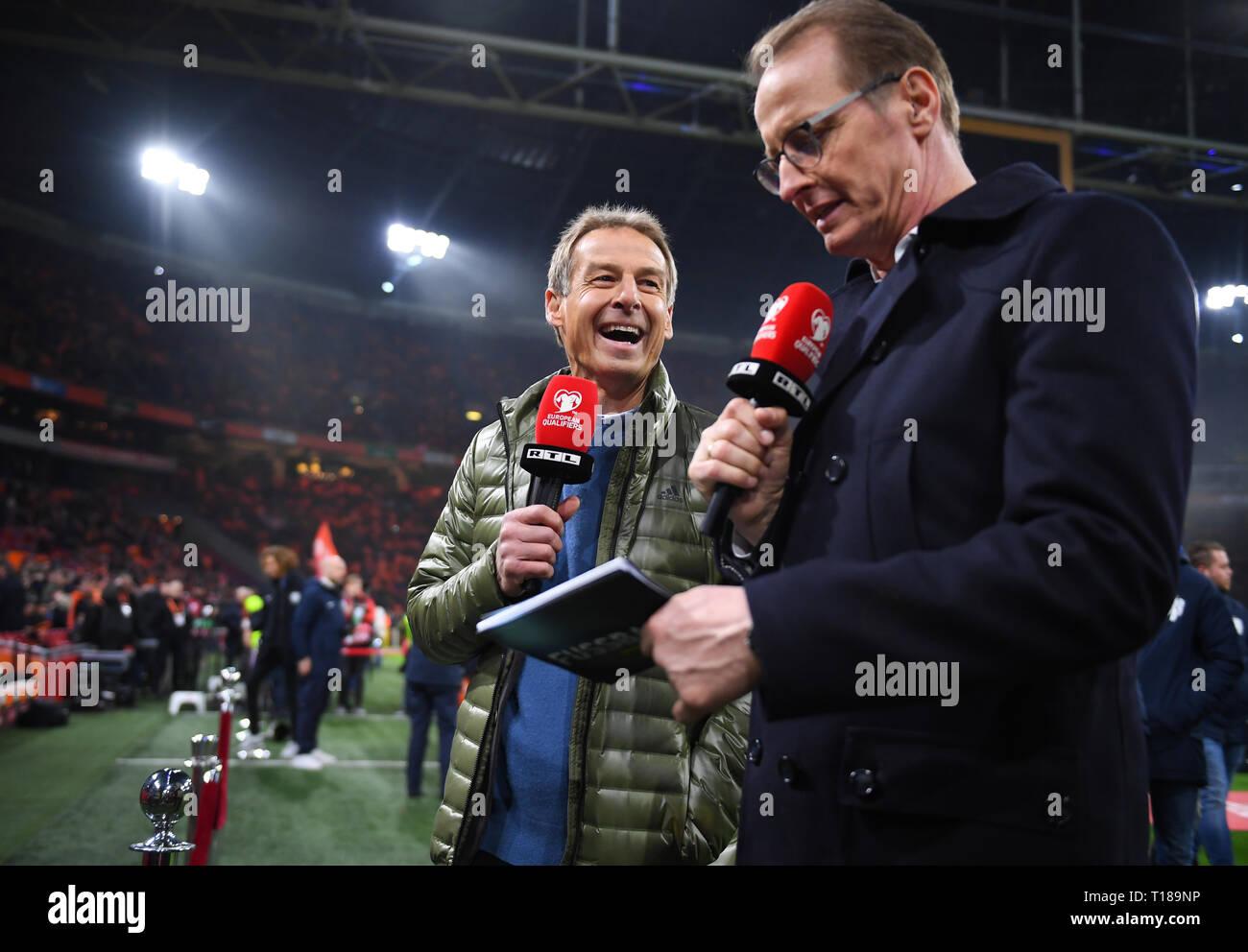Amsterdam Niederlande 24 Mar 2019 Juergen Klinsmann Rtl