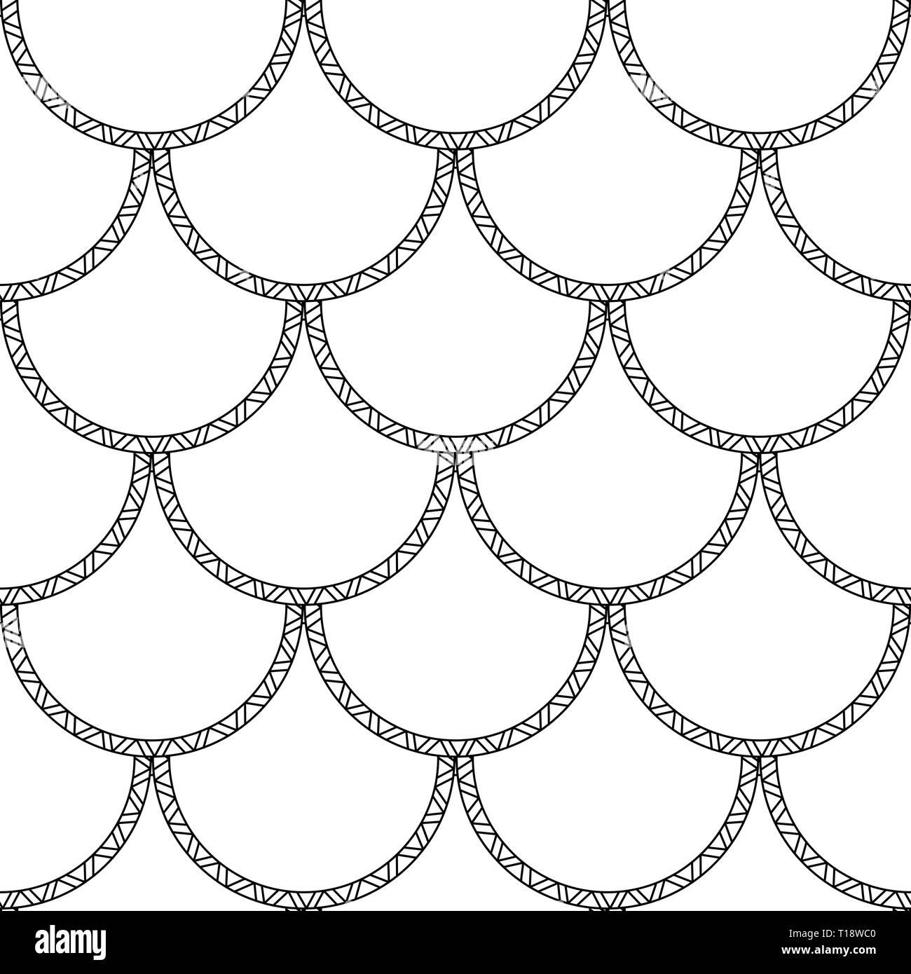 GroГџer schwarzer Muster-Schwanz