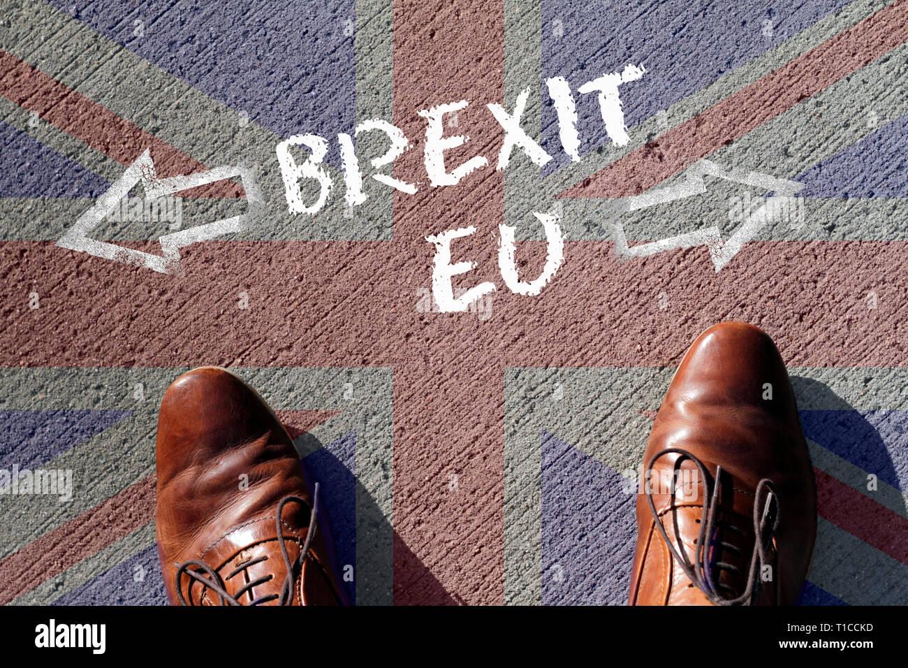 6d7b836891b87c Beschluss  Brexit oder keine Brexit. Auf der Suche nach Ein Paar Schuhe und  der