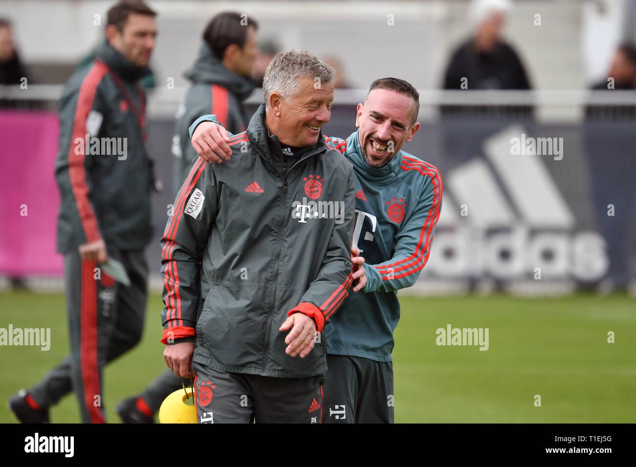 Munchen Deutschland 26 Mar 2019 Franck Ribery Bayern