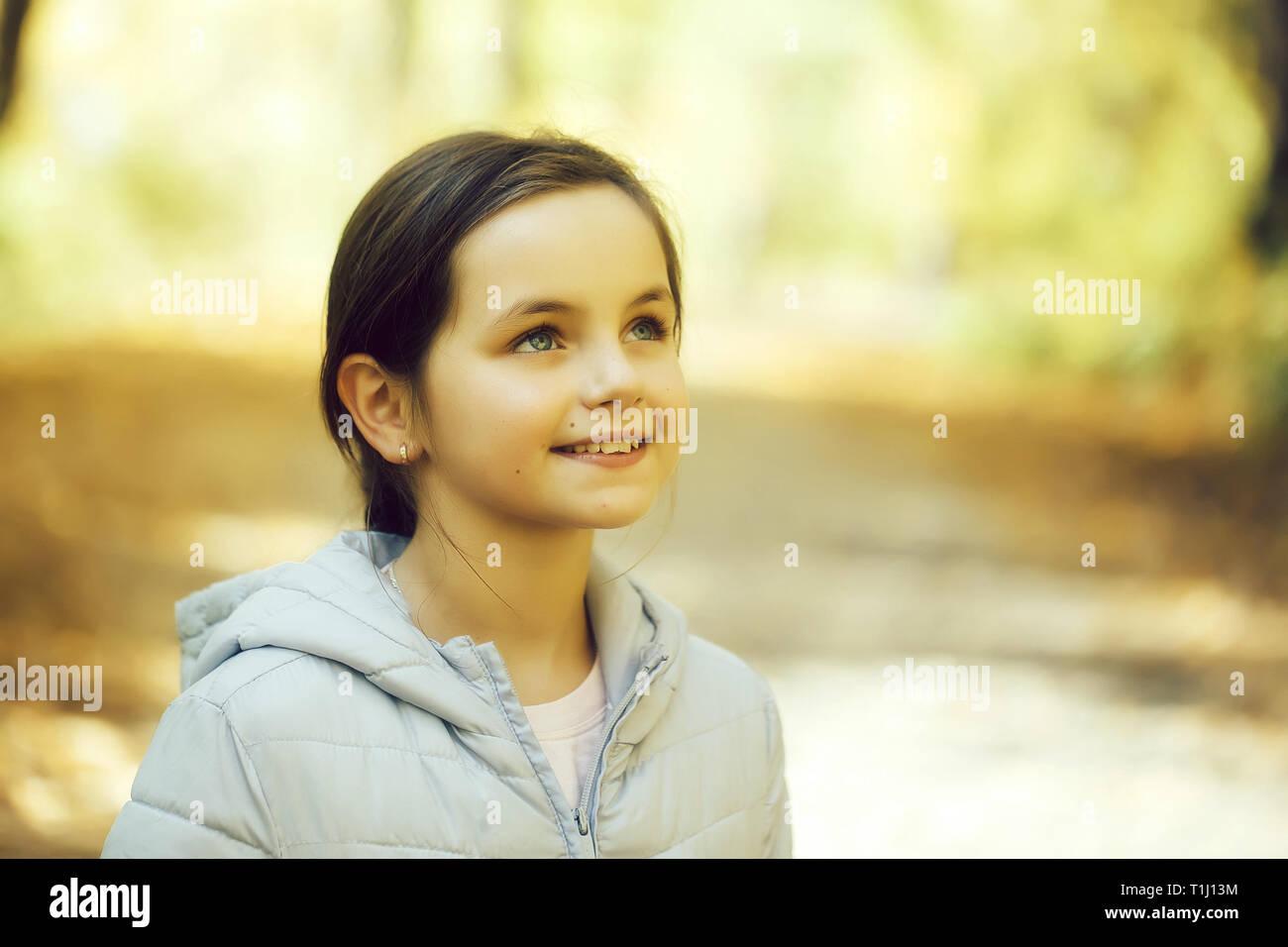 Süße junge Mädchen Stockbild