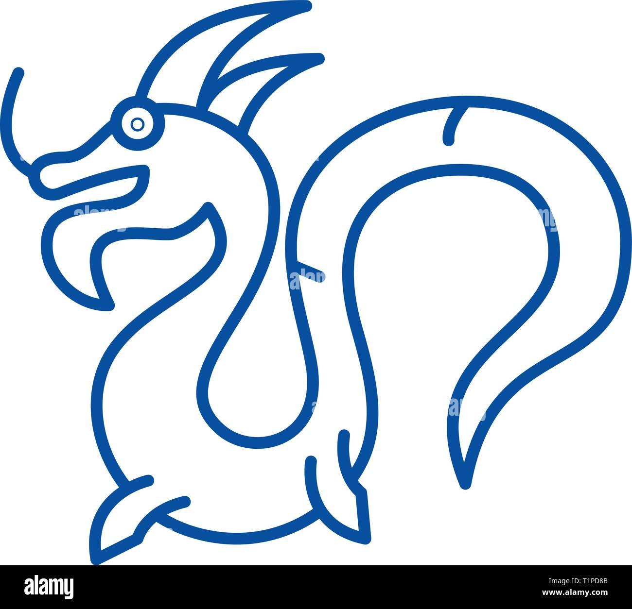 Drache China Symbol