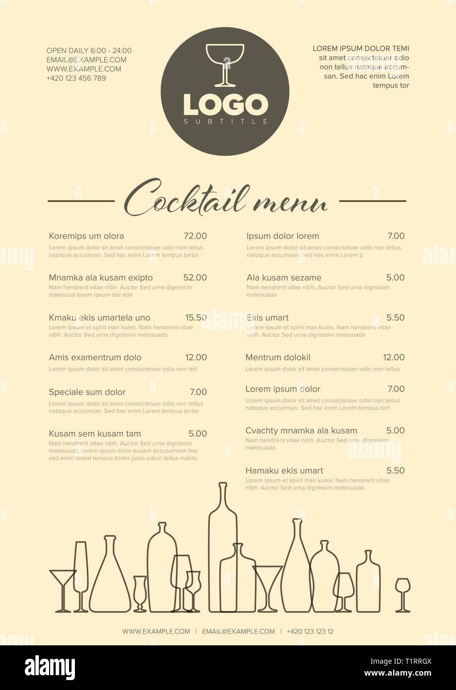 Cocktailkarte Google Suche リーフレット 蘿蔔糕 和 10